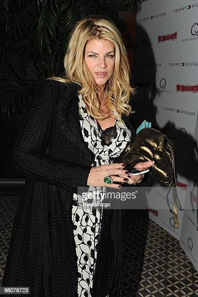Kirstie Alley attends 'The Runaways' New York premiere after party on March 17 2010 in New York City