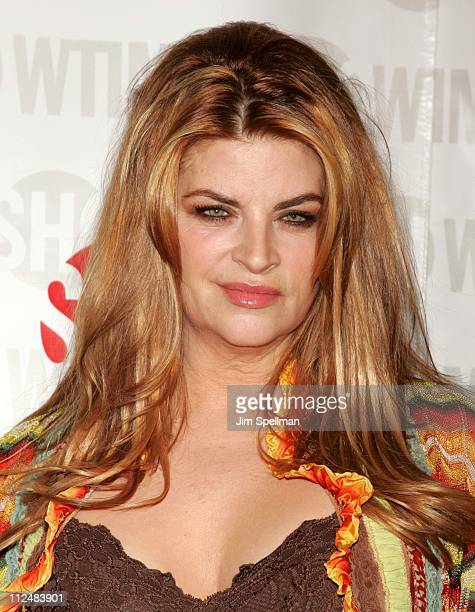 Kirstie Alley during 'Fat Actress' Showtime Network's New York City Premiere Red Carpet at Clearview Chelsea West Cinemas in New York City New York...