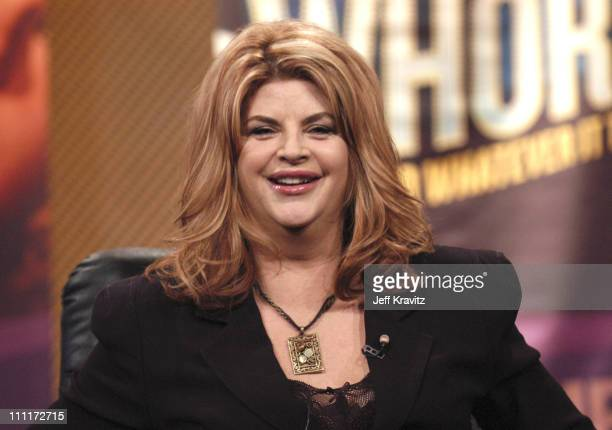 Kirstie Alley of 'Fat Actress' during Showtime TCA Day at Universal Hilton in Los Angeles California United States