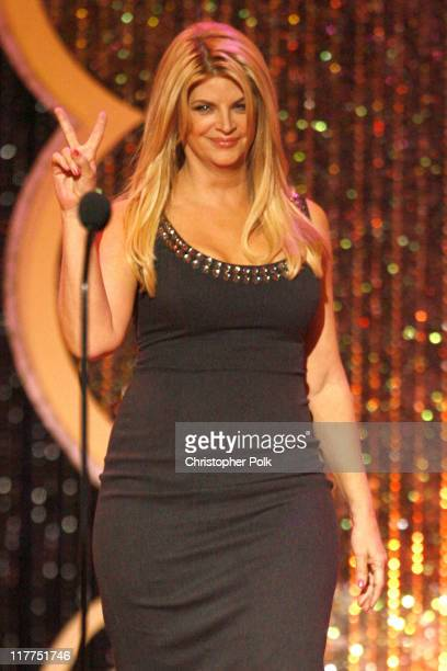 Kirstie Alley presenter during 5th Annual TV Land Awards Show at Barker Hangar in Santa Monica California United States