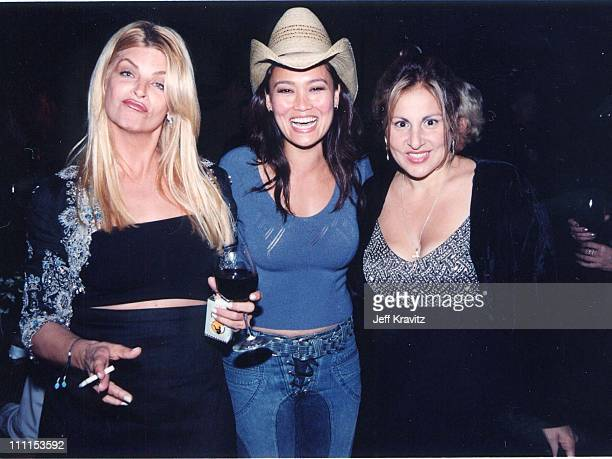 Kirstie Alley Tia Carrere and Kathy Najimy during 'Battlefield Earth' Premiere at Mann's Chinese Theater in Hollywood California United States
