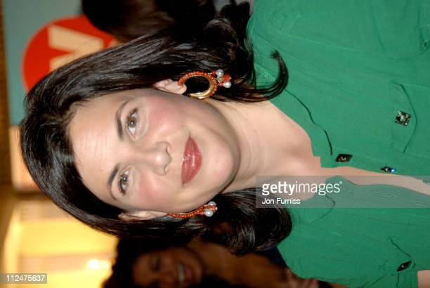 Kirstie Allsop during 2005 TV Quick TV Choice Awards Inside at Dorchester in London Great Britain