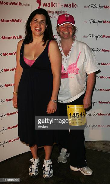 Kirstie Allsopp and Charlie Dimmock 10th Anniversary Moonwalk for Breast Cancer Hyde Park London 19th May 2007 22819