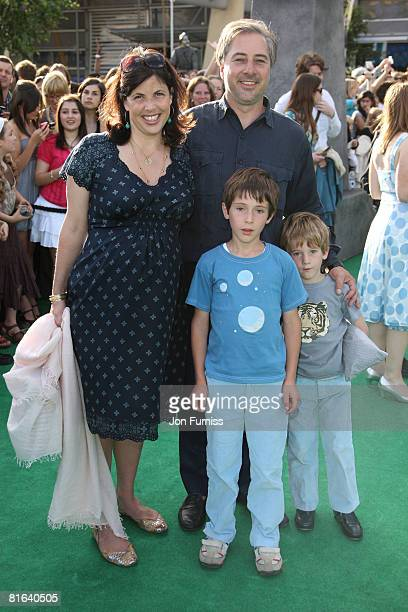 Kirstie Allsopp and family arrives on the red carpet to the UK Premiere of The Chronicles of Narnia Prince Caspian at the O2 Dome in North Greenwich...
