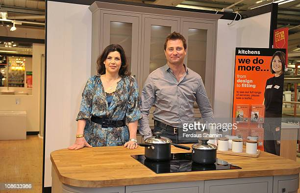 Kirstie Allsopp and George Clarke announce an exclusive partnership with BQ to promote DIY on January 31 2011 in London England