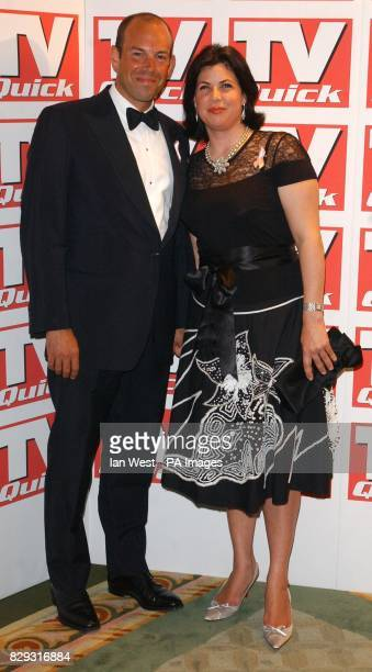 Kirstie Allsopp and Phil Spencer from Channel 4's Location Location during the eighth annual TV Quick Awards at The Dorchester Hotel on Park Lane...