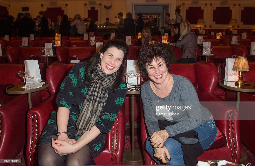 Kirstie Allsopp and Ruby Wax (R) attend the private screening of Mary & Martha, hosted by Emma Freud at the Electric Cinema on February 26, 2013 in London, England. The film, by Richard Curtis, which airs on BBC1 on Friday 1st March at 8.30pm stars Hilary Swank as Mary and Brenda Blethyn as Martha, an American and and Englishwoman who have little in common apart from the tragedy of losing a son to malaria, that unexpectedly brings them together.