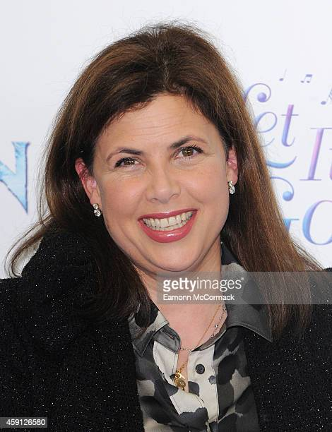Kirstie Allsopp attends a celebrity singalong from 'Frozen' at Royal Albert Hall on November 17 2014 in London England