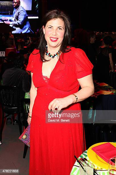 Kirstie Allsopp attends 'A Night of Reggae' hosted by Helena Bonham Carter for Save The Children UK at The Roundhouse on March 12 2014 in London...