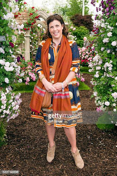 Kirstie Allsopp attends Chelsea Flower Show press day at Royal Hospital Chelsea on May 23 2016 in London England
