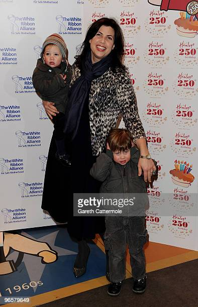 Kirstie Allsopp attends the 250th Birthday Party of Hamleys at Hamleys on February 11 2010 in London England