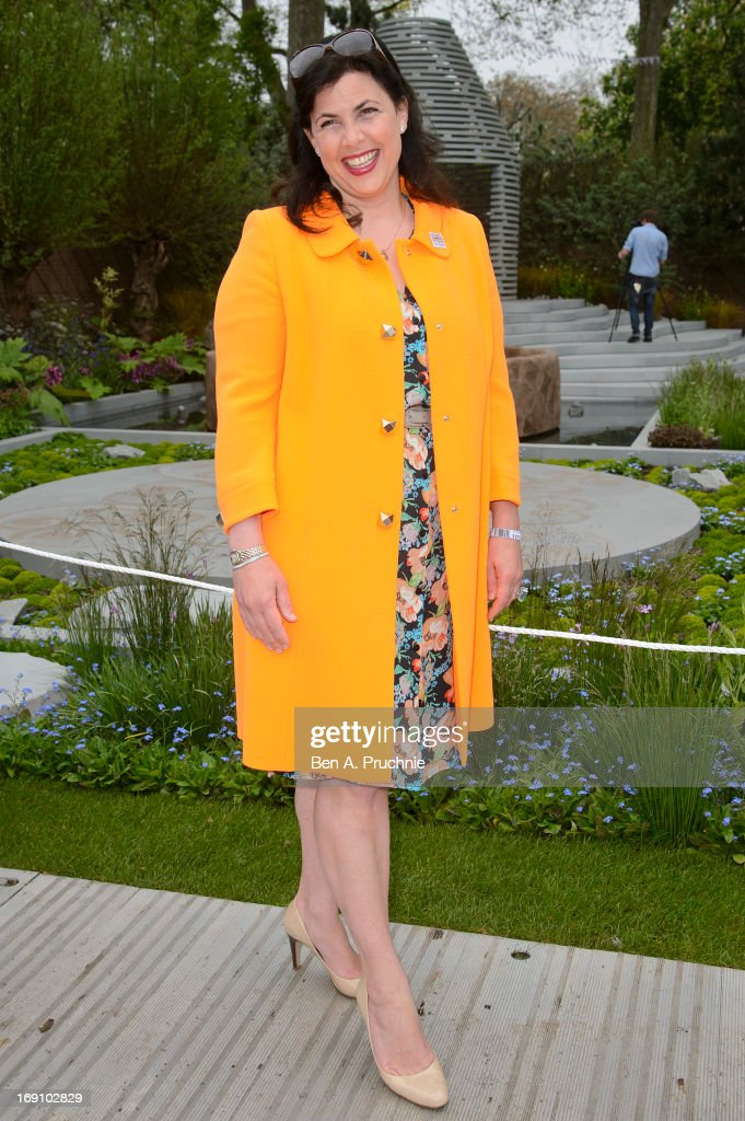 Kirstie Allsopp attends the Chelsea Flower Show press and VIP preview day at Royal Hospital Chelsea on May 20, 2013 in London, England.