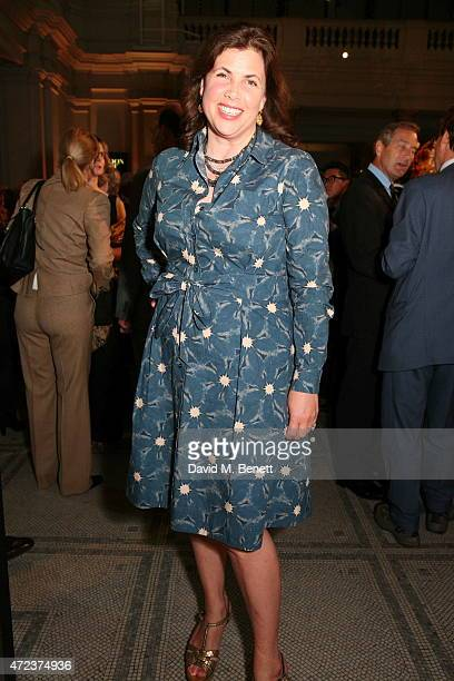 Kirstie Allsopp attends the London Craft Week opening reception at The VA on May 6 2015 in London England