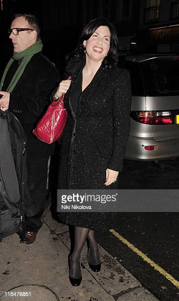 Kirstie Allsopp attends The Spectator GQ 200th Anniversary Party at Sir Rocco Forte's Brown's Hotel on December 2 2008 in London England