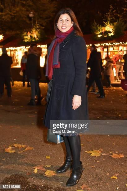 Kirstie Allsopp attends the VIP launch of Hyde Park Winter Wonderland 2017 on November 16 2017 in London England