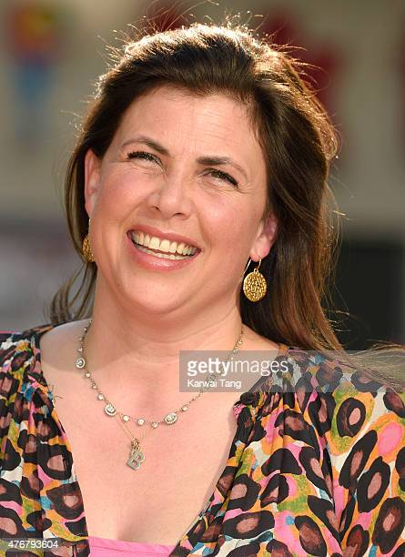 Kirstie Allsopp attends the World Premiere of 'Minions' at Odeon Leicester Square on June 11 2015 in London England
