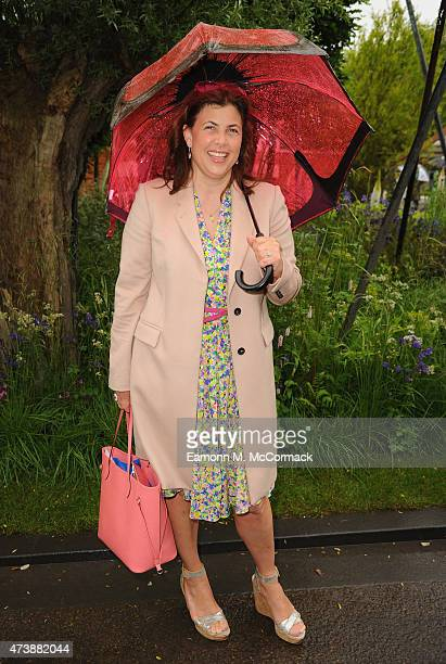 Kirsty Allsop attends the Chelsea flower Show at Royal Hospital Chelsea on May 18 2015 in London England