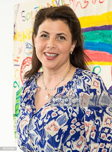 Kirsty Allsopp attends the ASAP African Solutions to African Problems private lunch at the Louise T Blouin Foundation on May 21 2014 in London England