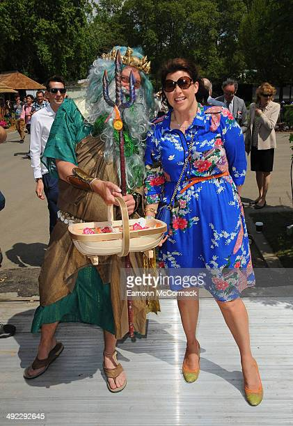 Kirsty Allsopp attends the VIP preview day of The Chelsea Flower Show at The Royal Hospital Chelsea on May 19 2014 in London England