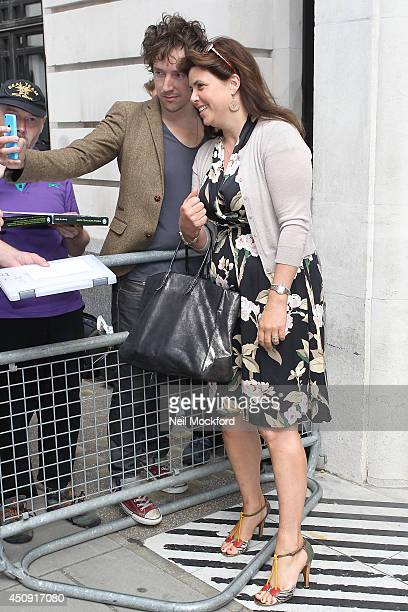 Kirsty Allsopp seen at BBC Radio 2 on June 20 2014 in London England