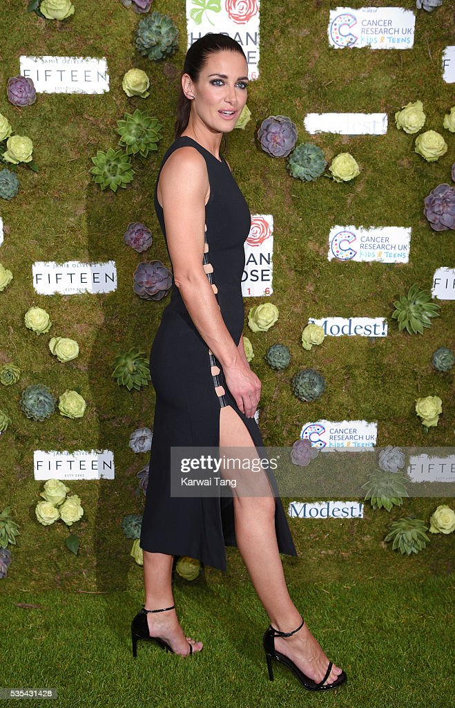 Kirsty Gallacher arrives for The Horan And Rose event at The Grove on May 29, 2016 in Watford, England.