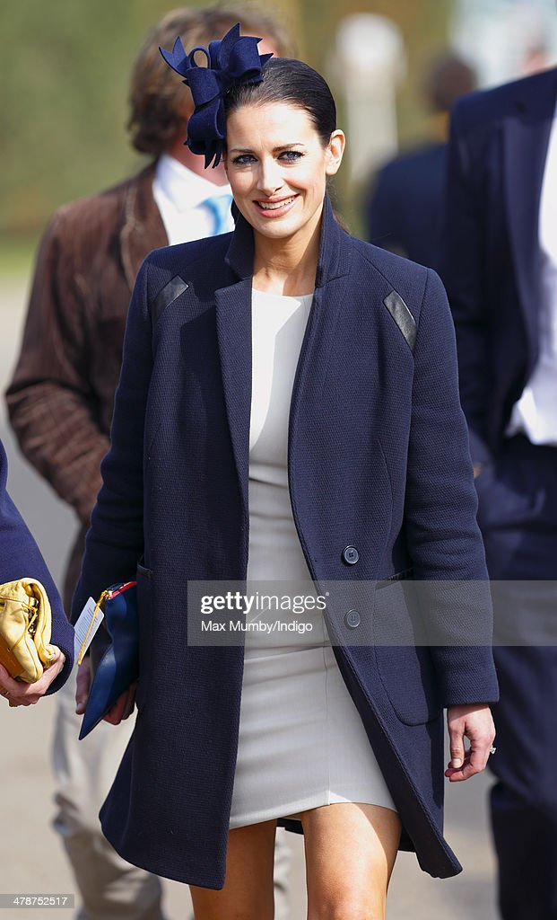 Kirsty Gallacher attends Day 4 of the Cheltenham Festival at Cheltenham Racecourse on March 14, 2014 in Cheltenham, England.