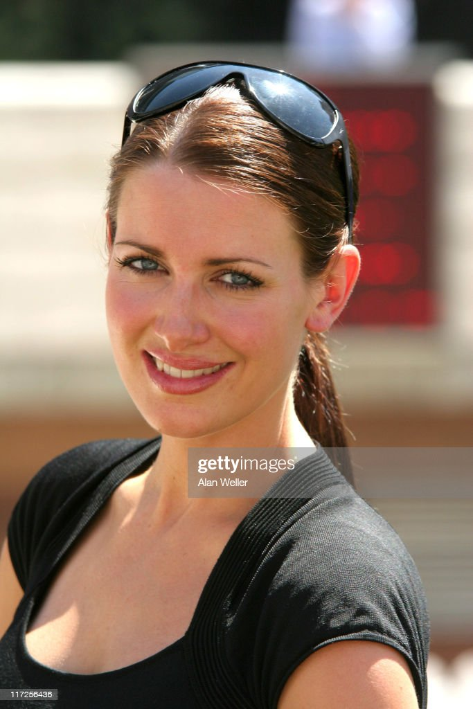 Kirsty Gallacher Photocall to Promote the RBS Golf Experience - July 18, 2006