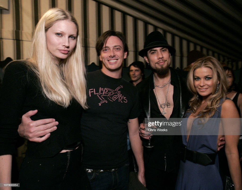 Kirsty Hume, Donovan Leitch, Dave Navarro and Carmen Electra