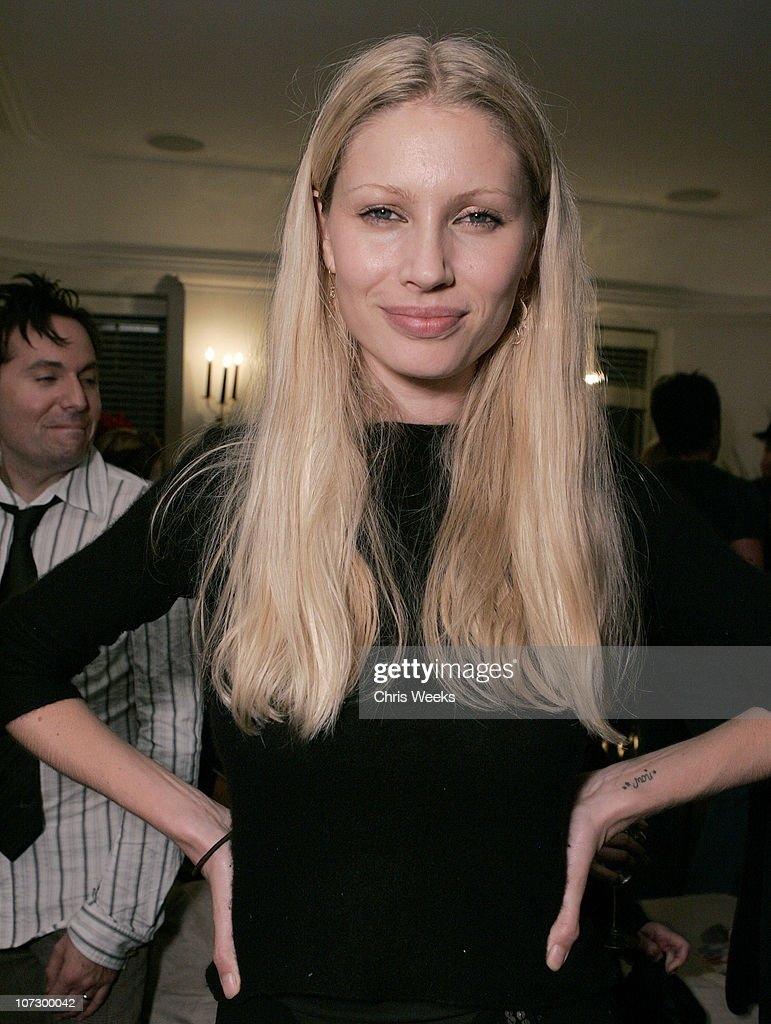 Kirsty Hume during Leslie Gardner's Smashing Grandpa Launches New Designs Inspired by 'I'm with the Band: Confessions of a Groupie' by Pamela Des Barres at Chateau Marmont at Chateau Marmont in West Hollywood, California, United States.