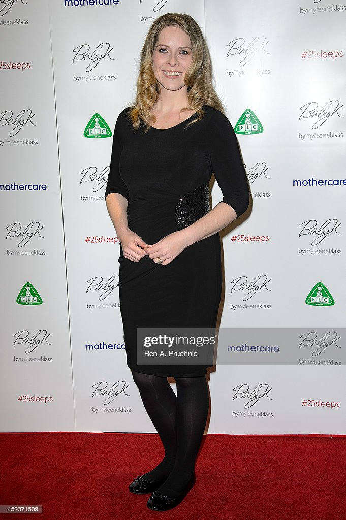 Kirsty Mccabe attends the Mothercare VIP Christmas party at the newly refurbished Oxford Street Store at Mothercare Oxford Street on November 28, 2013 in London, England.