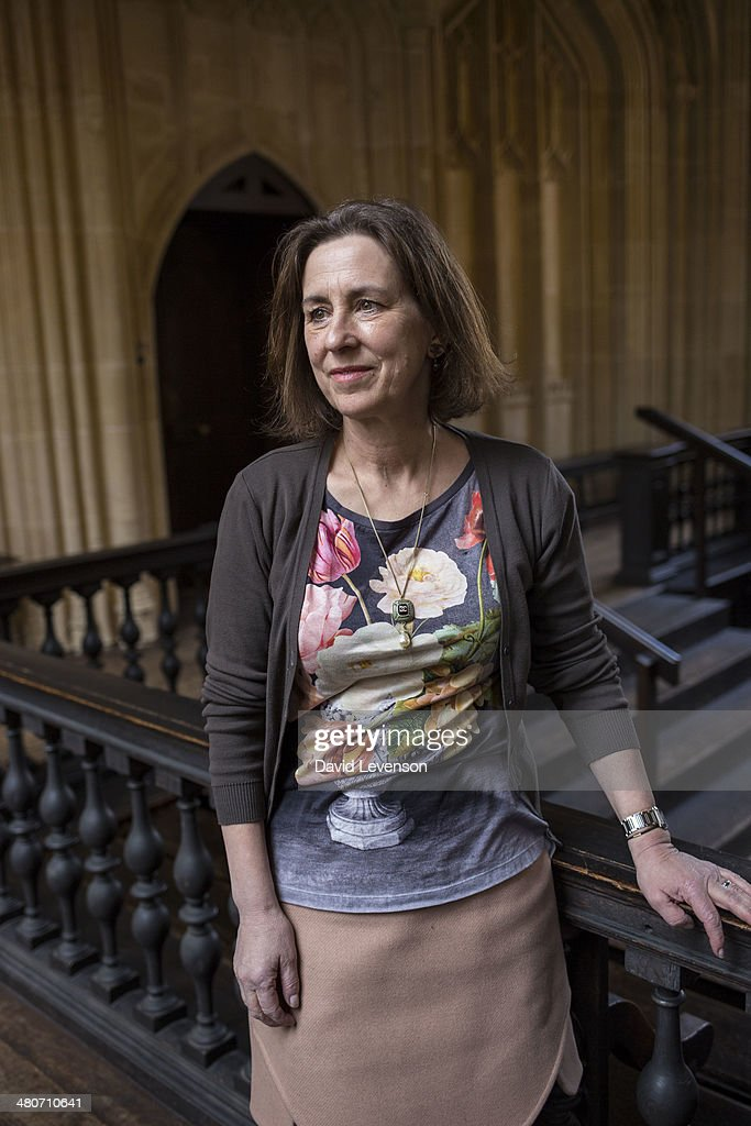 Kirsty Wark, journalist and broadcaster, on Day 5 of the FT Weekend Oxford Literary Festival on March 26, 2014 in Oxford, England.