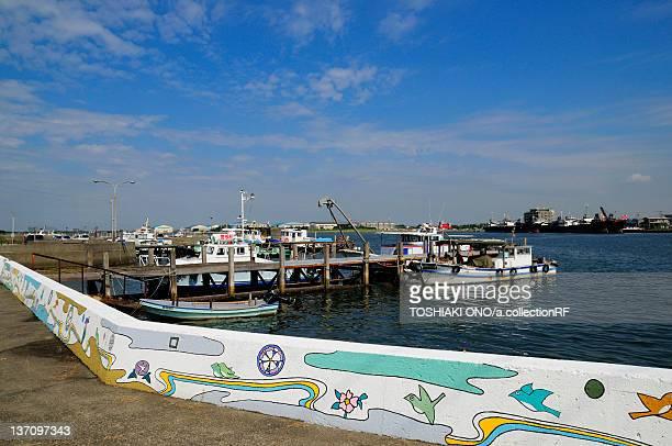 Kisarazu port, Chiba Prefecture, Japan
