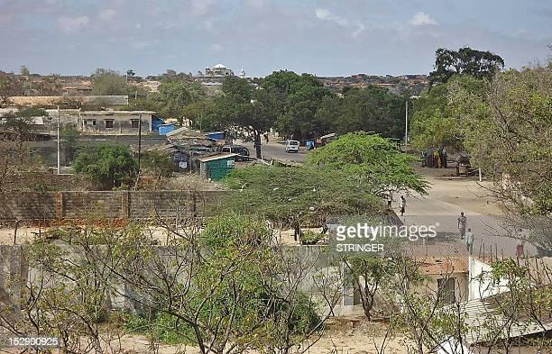 Kismayo Somalia is pictured on September 28 2012 The Kenyan Defence Force claim to have taken the southern Somali port city of Kismayo the last...