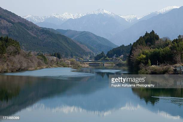 Kiso River and Central Alps