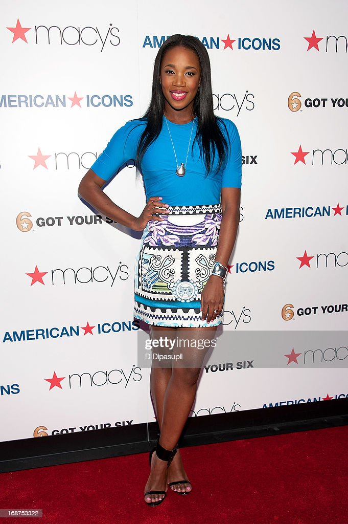DJ Kiss attends Macy's 'American Icons' Campaign Launch at Gotham Hall on May 14, 2013 in New York City.