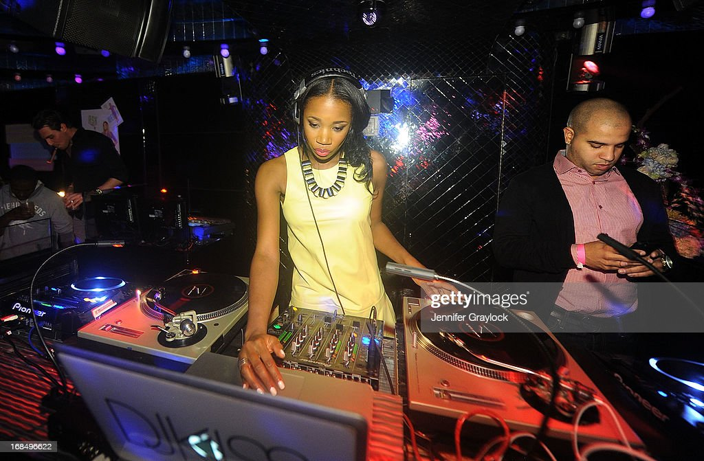 <a gi-track='captionPersonalityLinkClicked' href=/galleries/search?phrase=DJ+Kiss&family=editorial&specificpeople=4468592 ng-click='$event.stopPropagation()'>DJ Kiss</a> attends the Wendy Williams Debuts 'Ask Wendy' By Harper Collins Book Release Party at The Pink Elephant on May 9, 2013 in New York City.
