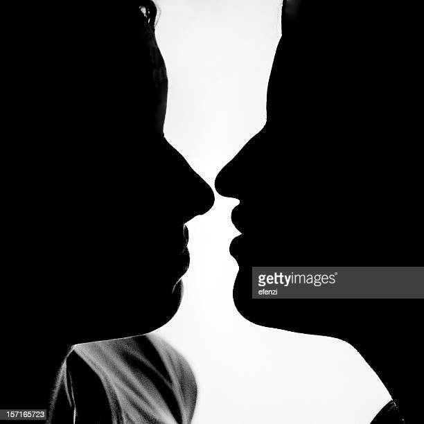 Kiss in B&W