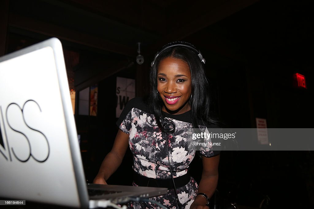 DJ Kiss spins at Bridget Kelly's Birthday Celebration at the 40 / 40 Club on April 9, 2013 in New York City.