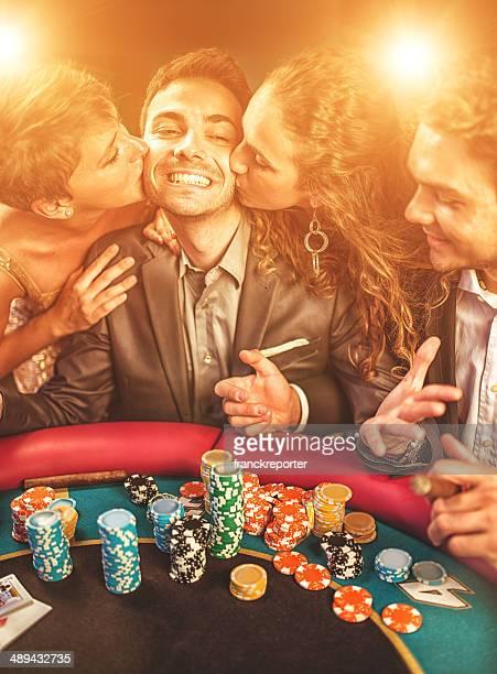 キス、幸運のポーカー