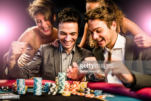 kisses by the luck at poker