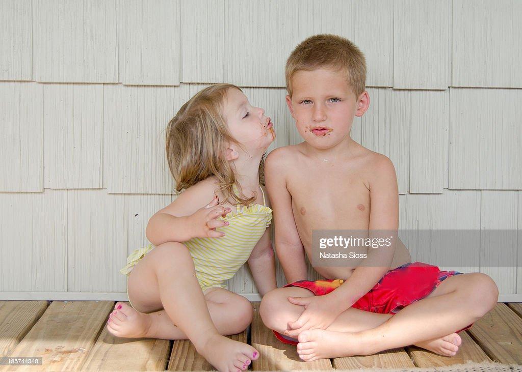 Kisses : Stock Photo