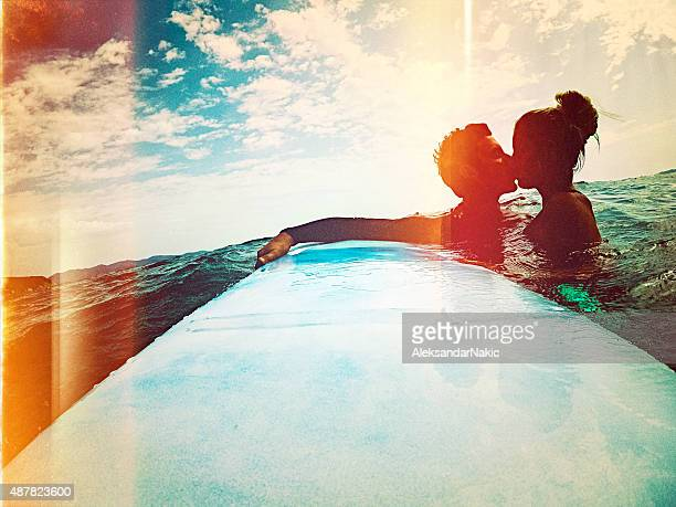 Kissing in the open sea