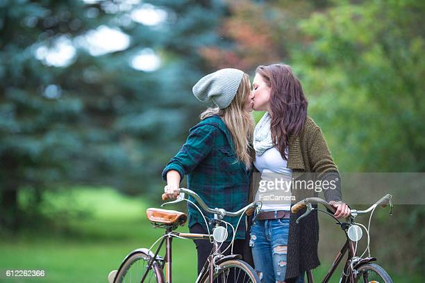 Kissing in the Park