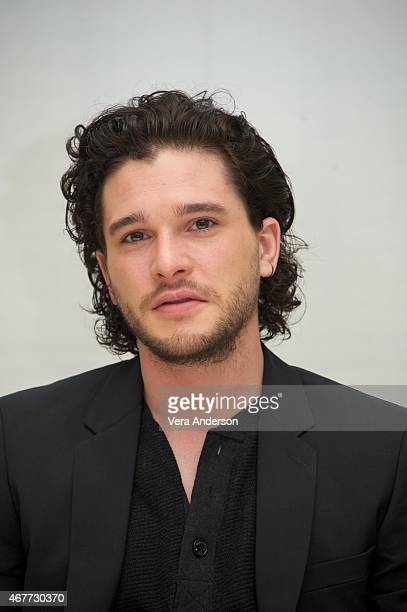 Kit Harington at the 'Game Of Thrones' Press Conference at the Four Seasons Hotel on March 25 2015 in Beverly Hills California