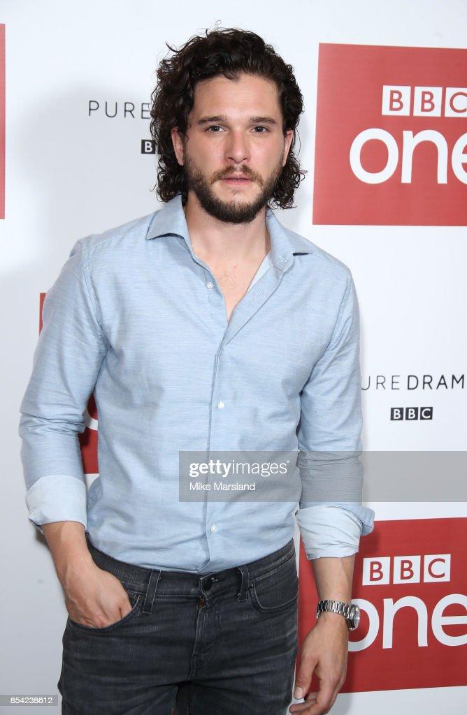 Kit Harington attending the 'Gunpowder' preview screening at BAFTA on September 26, 2017 in London, England.