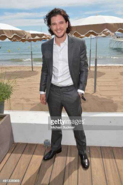 Kit Harington attends Deadline's Cocktails on the Croisette in partnership with AmericanExpress and Film Fraternity at La Gold Plage on May 16 2014...