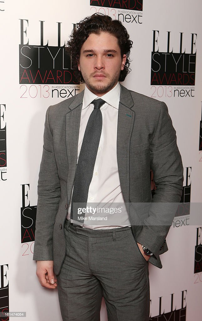 Kit Harington attends the Elle Style Awards 2013 at The Savoy Hotel on February 11, 2013 in London, England.
