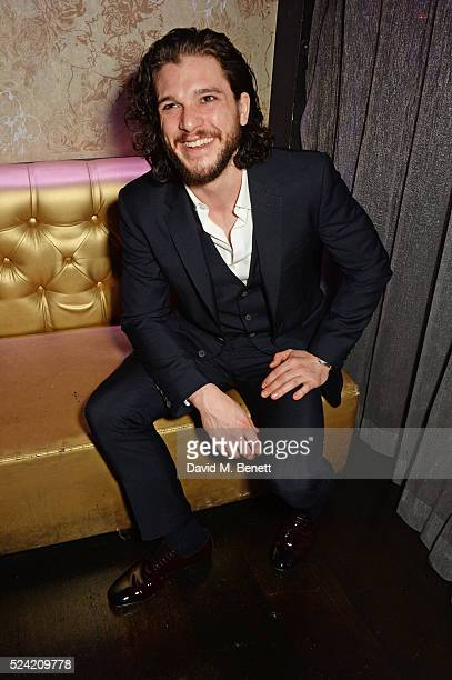 Kit Harington attends the Gala Night performance of 'Doctor Faustus' at The Cuckoo Club on April 25 2016 in London England