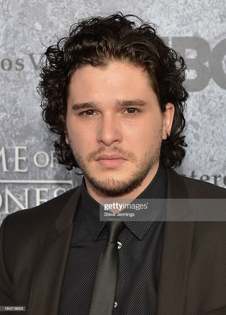 <a gi-track='captionPersonalityLinkClicked' href=/galleries/search?phrase=Kit+Harington&family=editorial&specificpeople=7470548 ng-click='$event.stopPropagation()'>Kit Harington</a> attends the Season 3 Premiere of HBO's 'Game Of Thrones' at Palace Of Fine Arts Theater on March 20, 2013 in San Francisco, California.