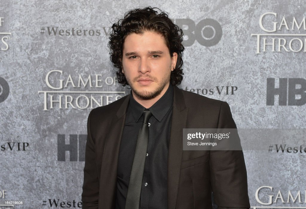 Kit Harington attends the Season 3 Premiere of HBO's 'Game Of Thrones' at Palace Of Fine Arts Theater on March 20, 2013 in San Francisco, California.